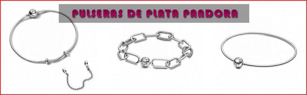Pulseras de plata Pandora